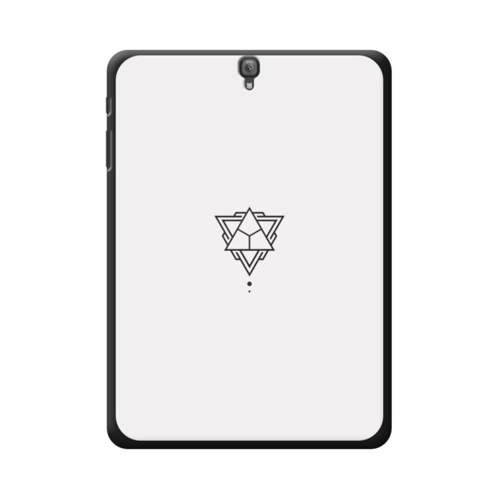 Abstract Triangles Samsung Galaxy Tab S3 9 7 Case   CaseFormula