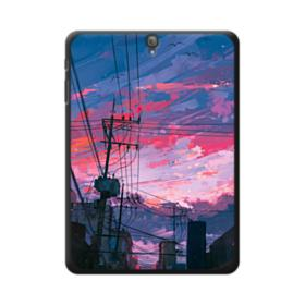 Sunset Houses Samsung Galaxy Tab S3 9.7 Case