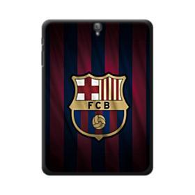 FC Barcelona Logo Fabric Samsung Galaxy Tab S3 9.7 Case