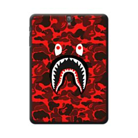 Bape Logo Red Camo Samsung Galaxy Tab S3 9.7 Case