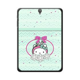 Green Hello Kitty Bow Samsung Galaxy Tab S3 9.7 Case