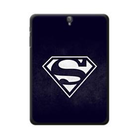 Black Superman Logo Samsung Galaxy Tab S3 9.7 Case