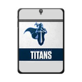Tennessee Titans Team Logo Banner Samsung Galaxy Tab S3 9.7 Case