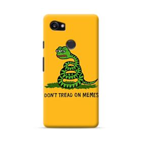 Pepe the frog don't tread on memes Google Pixel 2 XL Case