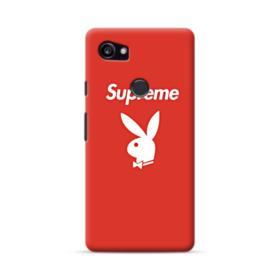 Supreme x Playboy Logo Google Pixel 2 XL Case