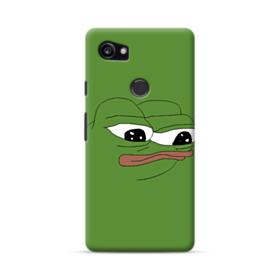 Sad Pepe frog Google Pixel 2 XL Case