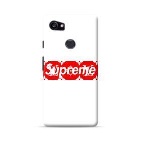 Louis Vuitton Monogram x Supreme Logo Google Pixel 2 XL Case