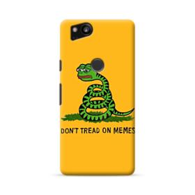 Pepe the frog don't tread on memes Google Pixel 2 Case