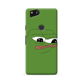 Sad Pepe frog Google Pixel 2 Case