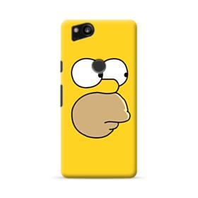 The Simpsons Face Google Pixel 2 Case