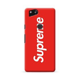 Red Supreme Google Pixel 2 Case