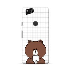 Brown Missing Cony Google Pixel 2 Case