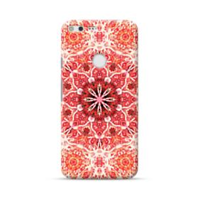 Red mandala flower Google Pixel XL Case