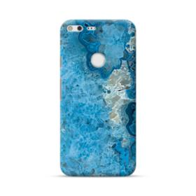 Peacock Blue Marble Google Pixel XL Case