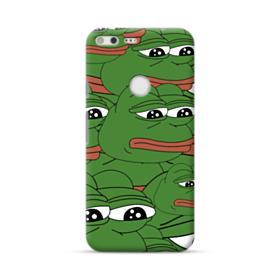 Sad Pepe frog seamless Google Pixel XL Case
