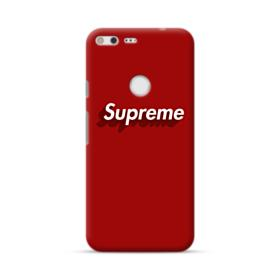 Supreme Red Cover Google Pixel XL Case