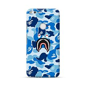 Bape Shark Blue Camo Google Pixel XL Case