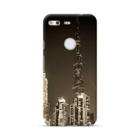 City night skyline Google Pixel Case