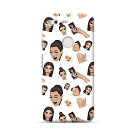 Kim Kardashian Emoji Kimoji seamless Google Pixel Case