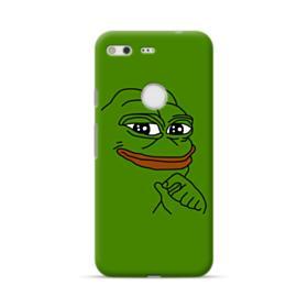 Smug Pepe Frog Funny Meme Google Pixel Case