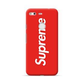 Red Supreme Google Pixel Case