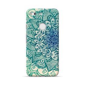 Emerald Mandala Pattern Google Pixel Case