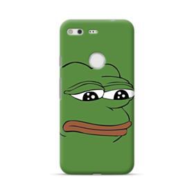 Sad Pepe frog Google Pixel Case