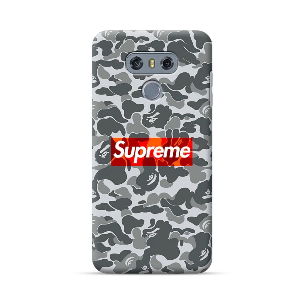 buy online c7454 1b2e4 Supreme Camo LG G6 Case | CaseFormula