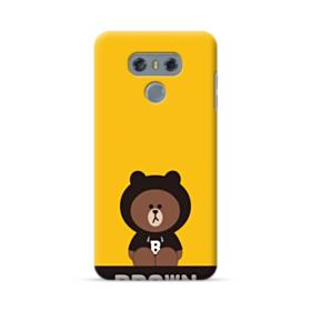 Line Friends Brown Give You Luck LG G6 Case