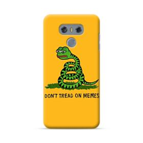 Pepe the frog don't tread on memes LG G6 Case