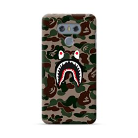 Bape shark camo print LG G6 Case