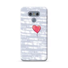 Red Heart Balloon LG G6 Case
