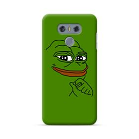 Smug Pepe Frog Funny Meme LG G6 Case