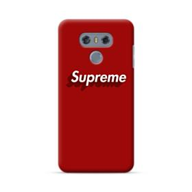 Supreme Red Cover LG G6 Case
