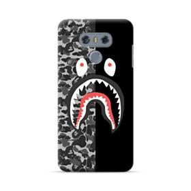 Bape Shark Camo & Black LG G6 Case