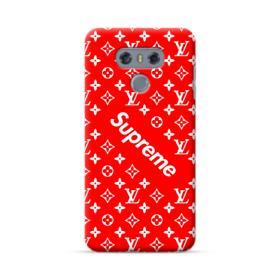 Supreme x Louis Vitton LG G6 Case