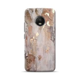 Gold abstract painting Moto G5 Plus Case