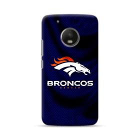 Denver Broncos Team Logo Dark Moto G5 Case