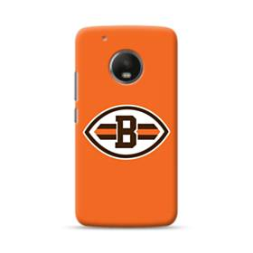 Football Shape B Symbol Moto G5 Case