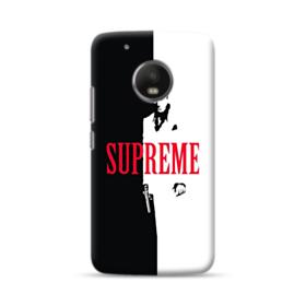 Vintage Supreme Black and White Man Moto G5 Case