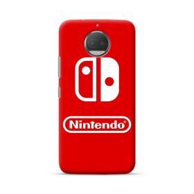 Nintendo Switch Logo Design Moto G5S Plus Case