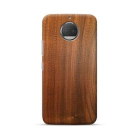 Red Oak Wood Moto G5S Plus Case