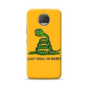 Pepe the frog don't tread on memes Moto G5S Case