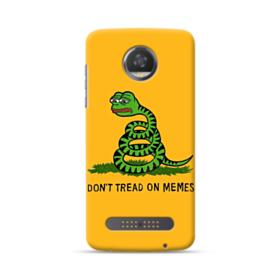 Pepe the frog don't tread on memes Moto Z2 Play Case