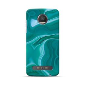 Green Marble Moto Z2 Play Case