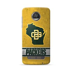 Green Bay Packers Vintage Grunge Moto Z2 Play Case