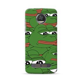 Sad Pepe frog seamless Moto Z2 Play Case