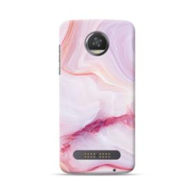 Pink Marble Moto Z2 Play Case
