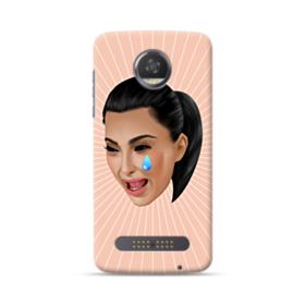 Crying Kim emoji kimoji Moto Z2 Play Case