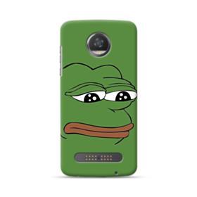 Sad Pepe frog Moto Z2 Play Case